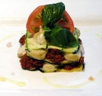 Meat-free lasagna at Veggie Paradise | VEGGIE PARADISE PHOTO