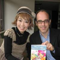 Manga/cartoon authors Mimei Sakamoto and Charles Danziger | TOMOKO OTAKE PHOTO/COURTESY OF MG PRESS (above, below)