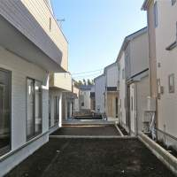 Big house, little lot: A new housing development in  Shiroi, Chiba Prefecture, offers cheap, but tightly packed housing.