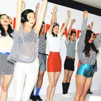 The American Apparel event during last season's Tokyo Fashion Week | MAMI TANABE