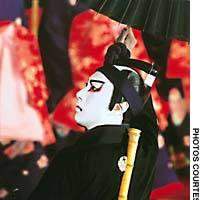 In May and June, the Kabukiza has been celebrating the 'rebirth' of Ichikawa Shinnosuke as Ichikawa Ebizo XI.