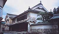 The elegant home of the Hon-Haga family in Uchiko's historic Yokaichi district