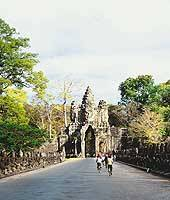 One of the approaches to Angkor Thom
