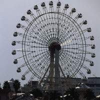 The Mosaic Garden ferris wheel