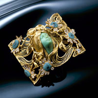 More then 230 artworks will be displayed, including his 'Woman with Flowing Hair' brooch.