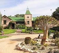 Oasis of opulence in an African wilderness
