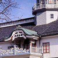 Kaichi Gakko, founded in 1876, boasts typical Meiji Era architecture