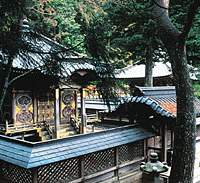 The tomb of the Tokugawa clan (above); vegetarian cuisine rustled up by monks on Mount Koya