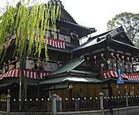 The present building of Dogo Onsen Honkan was built in 1894. | CHRIS BAMFORTH PHOTOS