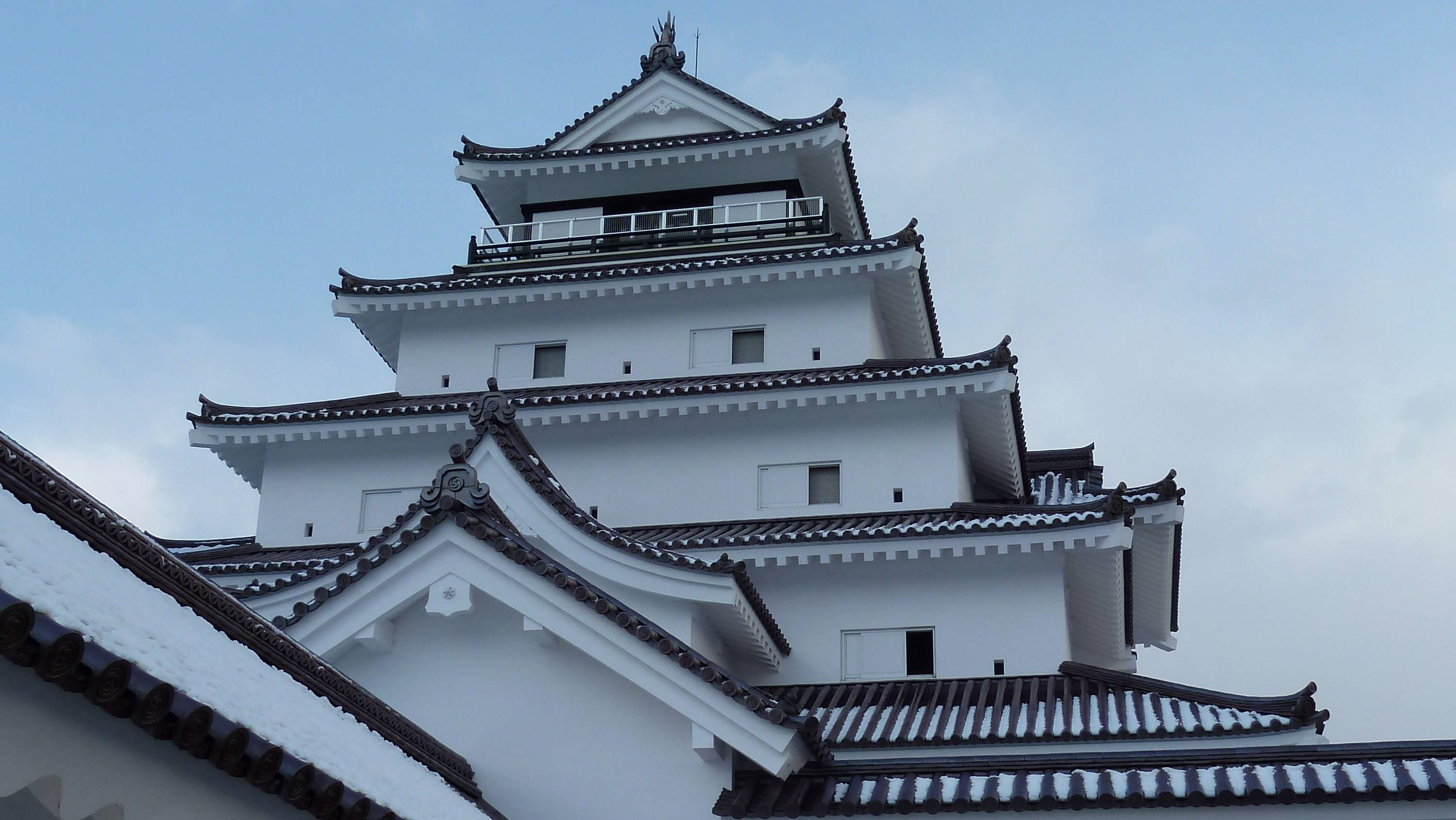 Seat of power: This replica of the Aizu clan's  Tsuruga-jo (Crane Castle), which fell to the Imperial Army in 1868, conveys a sense of the domain's might over which the seventh daimyo, Matsudaira Katamori had ruled until then. | LESLEY DOWNER PHOTOS