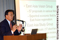 Political power plays cloud East Asian economic community vision
