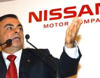 Nissan shareholders grill Ghosn over profit drop