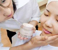 Cosmetics makers turn to high-end products