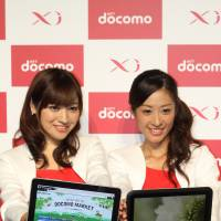 Touch up: If Samsung releases a Nexus tablet running Android 4.0 in 2012 it could be a winner for Docomo. | RICK MARTIN PHOTO
