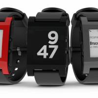 Born on Kickstarter, the Pebble Watch is a 'smart' watch with an e-paper face that links to your iPhone or Android.