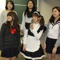 'Cosplay' students promote Nagoya's highlights