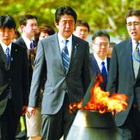 U.S. to Abe: Collective self-defense  off agenda