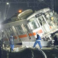 15 hurt in Japan train-truck collision