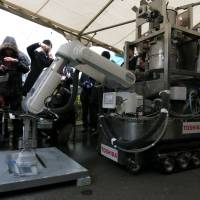 Toshiba decontamination bot to scrub No. 1 plant
