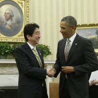 Regional woes cloud Abe's success in U.S.