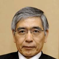 Abe readying to nominate Kuroda as next head of Japan's central bank