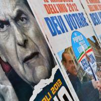 Italian leftist leader seeks way out of deadlock