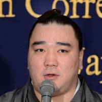 Harumafuji saddened by bullying incidents