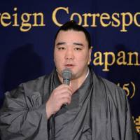 Harumafuji dreaming big after overcoming early setback