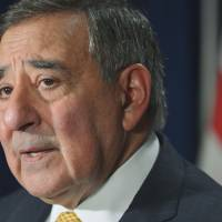 On point: U.S. Defense Secretary Leon Panetta speaks to the media in Washington on Tuesday. | AFP-JIJI