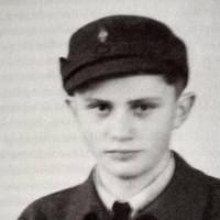 Dark past: A photo from 1943 shows Joseph Ratzinger as a German Air Force assistant during the war. | AFP-JIJI