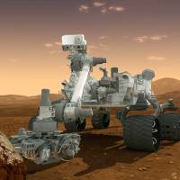 Scoop news: A drawing shows NASA's Curiosity rover. | AFP-JIJI