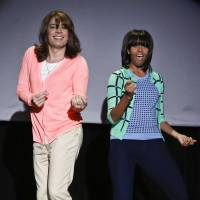 Michelle Obama dance on TV show goes viral