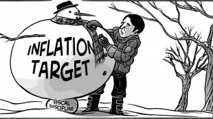 Inflation Snowman