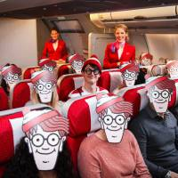 Where's Wally? See Virgin Atlantic; Rhone wine selection on Cathay; Jetstar to fly to Matsuyama