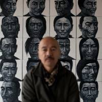 Han Chinese painter's latest collection finds inspiration in Tibetan self-immolators