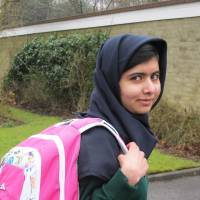 Malala returns to school in Britain