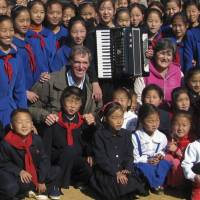 American building schools in North Korea
