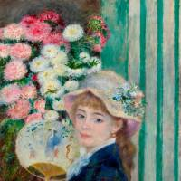 Pierre-Auguste Renoir's 'Girl with a Fan' (c.1879) | © STERLING AND FRANCINE CLARK ART INSTITUTE