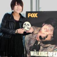 Being a zombie is a no-brainer for this Japanese actress