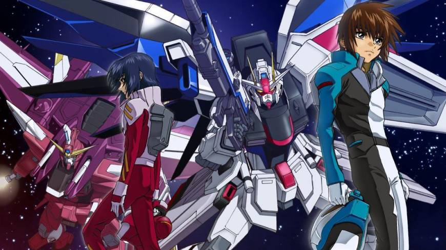 New dawn: Sunrise, who developed the popular series 'Mobile Suit Gundam SEED,' are among the anime powerhouses that now stream titles online.