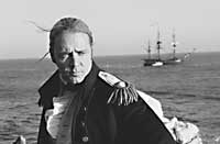 Star aboard - Russell Crowe in 'Master and Commander:The Far Side of the World'