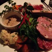 Port of Gaul: Petit Debut's appetizer platter is a pure taste of France. | REBECCA MILNER