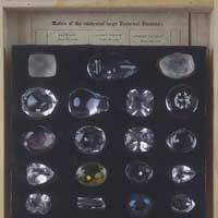 19th-century replicas of famous diamonds   PHOTOS COURTESY OF THE UNIVERSITY MUSEUM OF THE UNIVERSITY OF TOKYO
