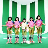 Growing up in the limelight: Tempura Kidz (from left: Karin, Ao, P-chan, Yu-Ka and NaNaHo) show off their dance moves in a new video for the track 'One Step.'