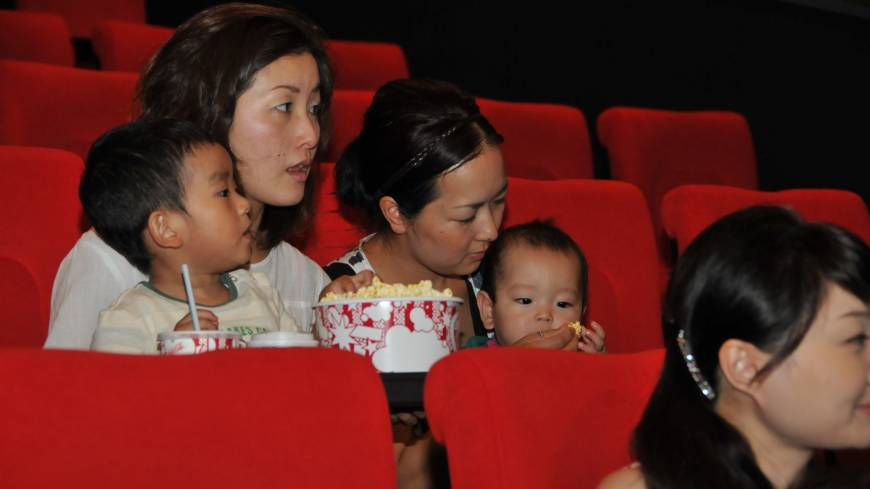 babies at the cinema need not be a recipe for disaster taking baby to the beach 870x489