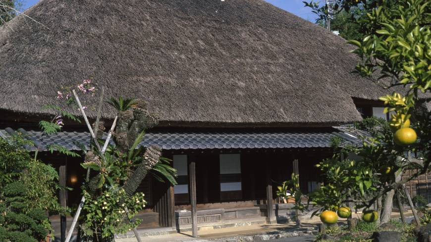 The Mizuta family house is a superb example of traditional minka architecture.