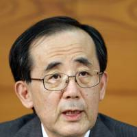BOJ chief sees only bubbles on horizon
