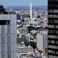 Space to let: Rents in Tokyo have dropped every month for more than three years, while the vacancy rate rose to 9.01 percent in December. | BLOOMBERG
