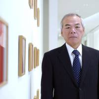 Demanding outlook: Tadahito Yamamoto, president of Fuji Xerox Co., poses for a photograph after an interview in Tokyo on Monday. | BLOOMBERG