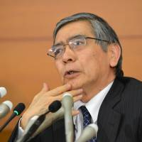 Deflation foe Kuroda takes helm of BOJ